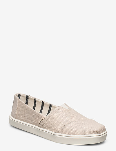Natural  Heritage Canvas - slip on sneakers - natural