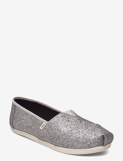 Silver Iridescent Glimmer - loaferit - silver