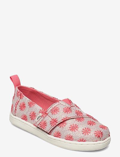 Coral Twill Glimmer - låga sneakers - orange