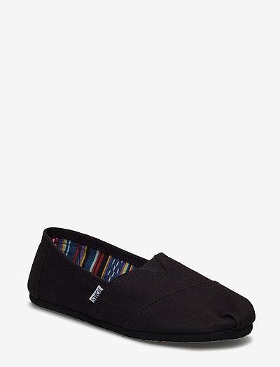 Black/Black Canvas - kengät - black on black canvas