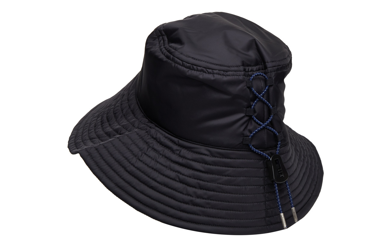 Bucket Logdark And Detail NavyTonsure Hat Reflective Elastic Cord Teddy With BQCWErxode