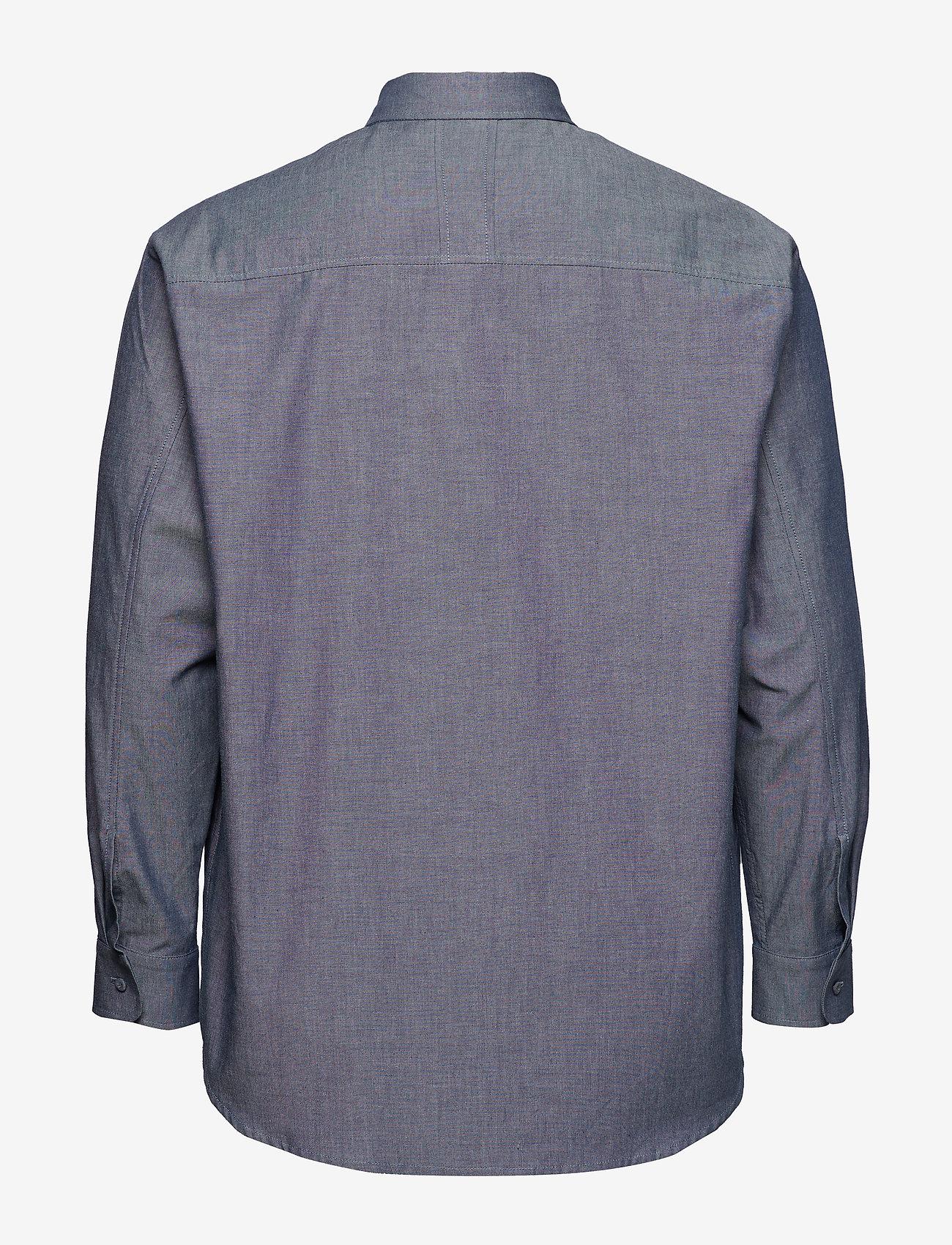 Oversize Shirt (Dark Indigo) - Tonsure oCHvR9