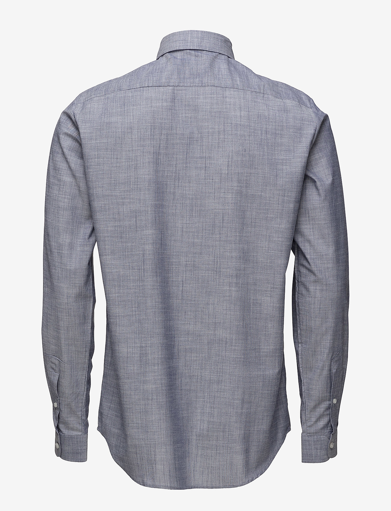 Tonsure - Regular shirt with embroidered logo - chemises business - chambray