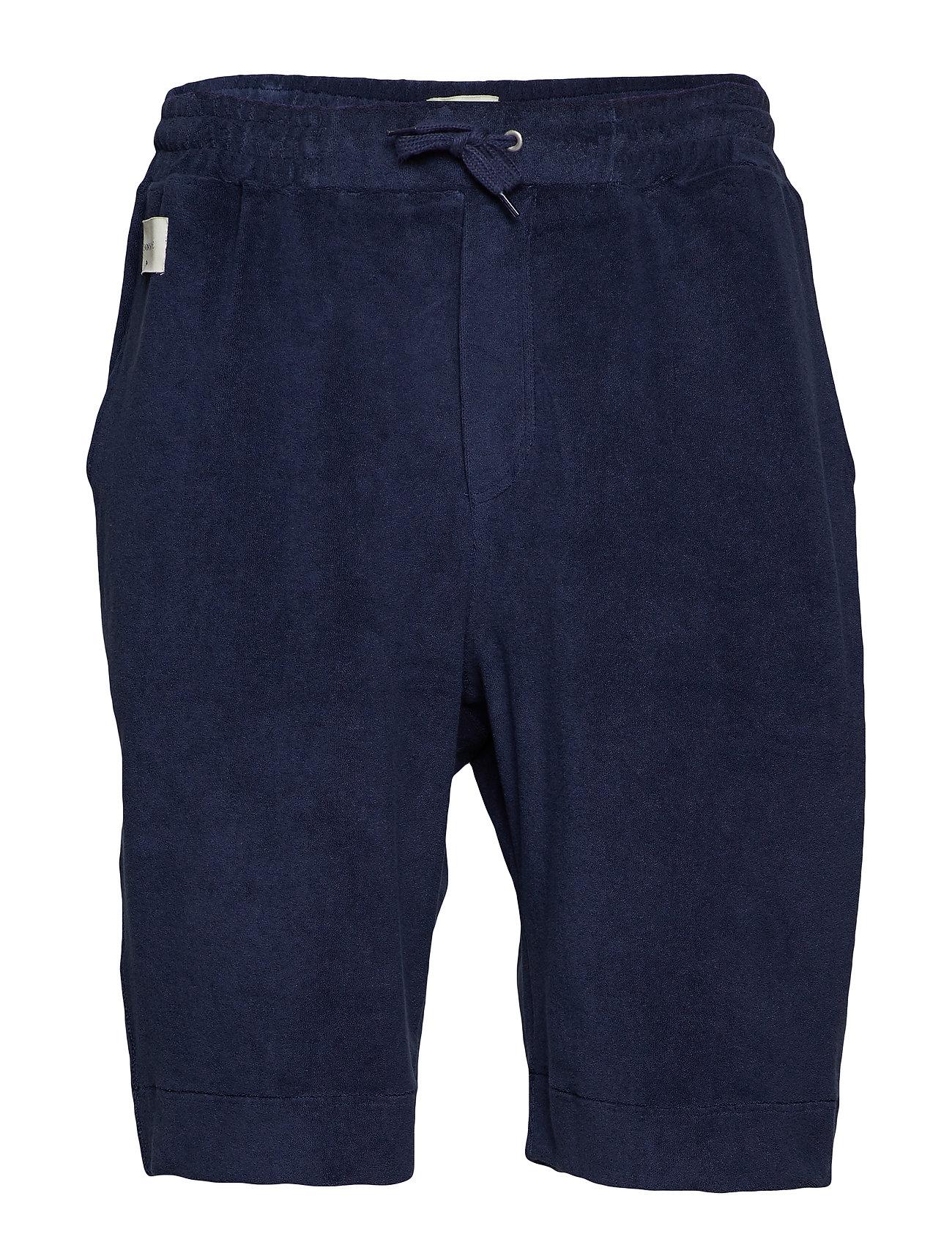 Tonsure Jersey regular shorts - DARK NAVY