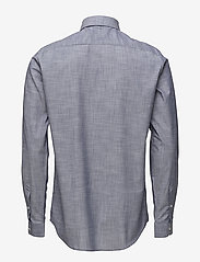 Tonsure - Regular shirt with embroidered logo - chemises business - chambray - 1