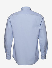 Tonsure - Regular shirt with embroidered logo - business shirts - light blue - 1