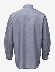 Tonsure - Collar stand shirt with zipper detail - chemises business - chambray - 1