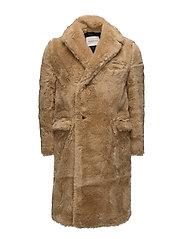 Steiff Fur Coat - BRANDY