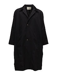 Oversize Trenchcoat - BLACK