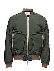 Bomber Jacket - GREEN OLIVE