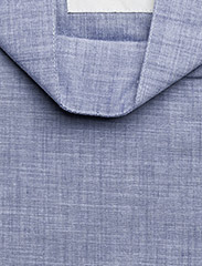 Tonsure - Collar stand shirt with zipper detail - chemises business - chambray - 2