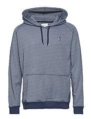 Hoodie Sweatshirt - DARK NAVY