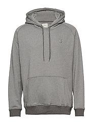 Hoodie Sweatshirt - GREY MELANGE