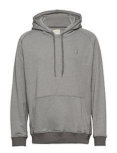 Logo Hood tech Sweat (Stone Grey Melange) (1500 kr) J