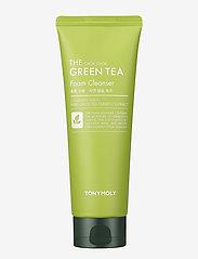 Tonymoly - Tonymoly The Chok Chok Green Tea Foam Cleanser 150ml - kasvojen puhdistus - clear - 0