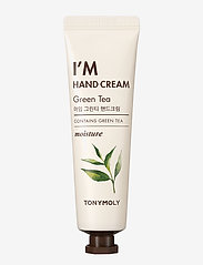 Tonymoly - Tonymoly I'm Hand Cream Green Tea 30ml - käsivoide - clear - 0