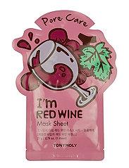 I Am Red Wine Mask Sheet
