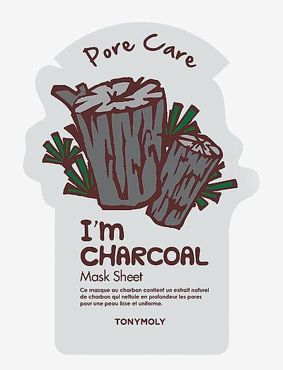 Tonymoly I Am Charcoal Mask Sheet - NO COLOUR