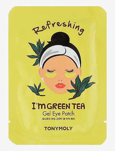 TONYMOLY I'm Green Tea Eye Patch - Øjenmasker - clear