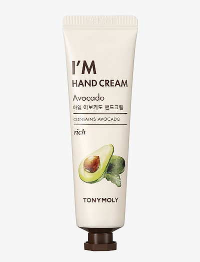 Tonymoly I'm Hand Cream Avocado 30ml - käsivoide ja jalkavoide - clear