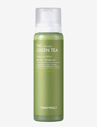 Tonymoly The Chok Chok Green Tea Ampoule Mist 150ml - skintonic & toner - clear
