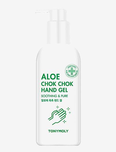 Tonymoly Aloe Chok Chok Hand Gel 300ml - käsidesi - clear