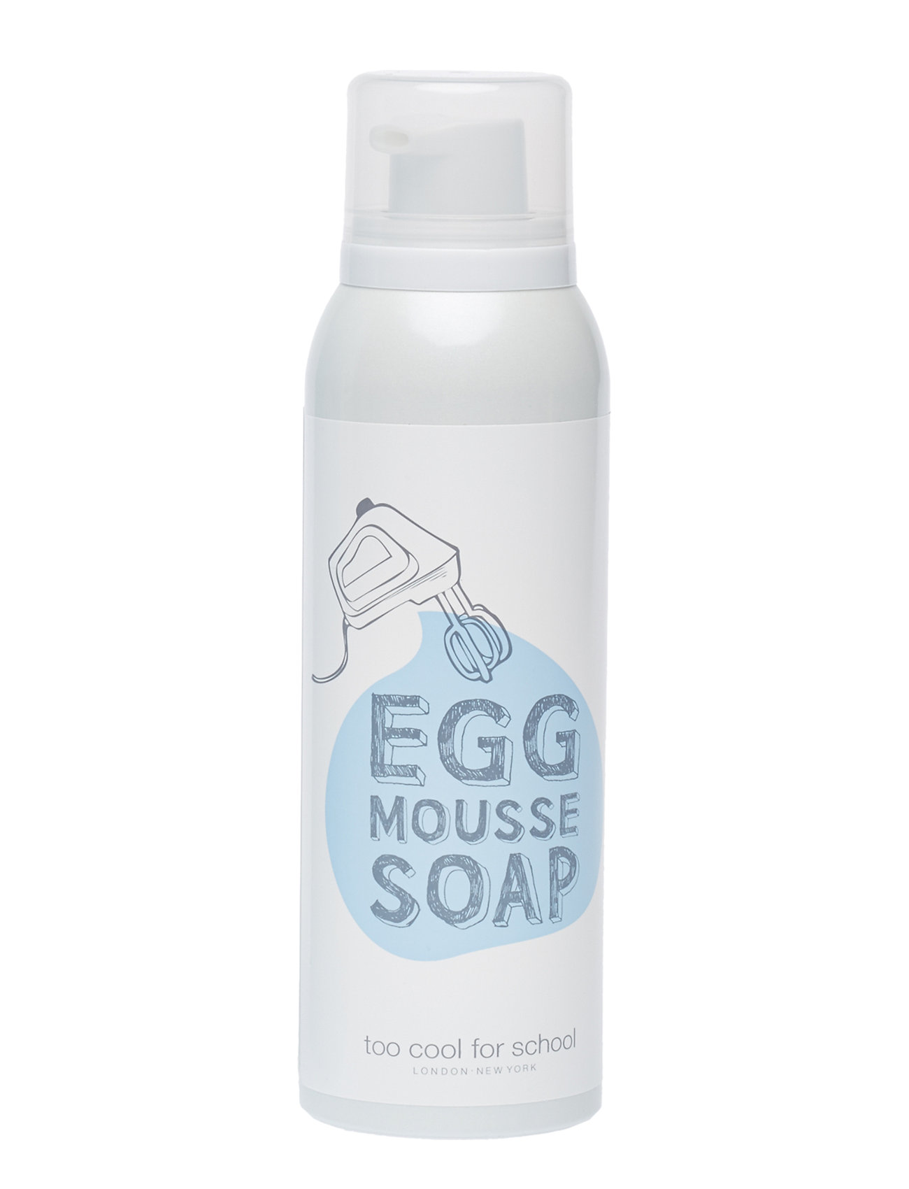 Too Cool For School Too Cool For School Egg Mousse Soap - CLEAR