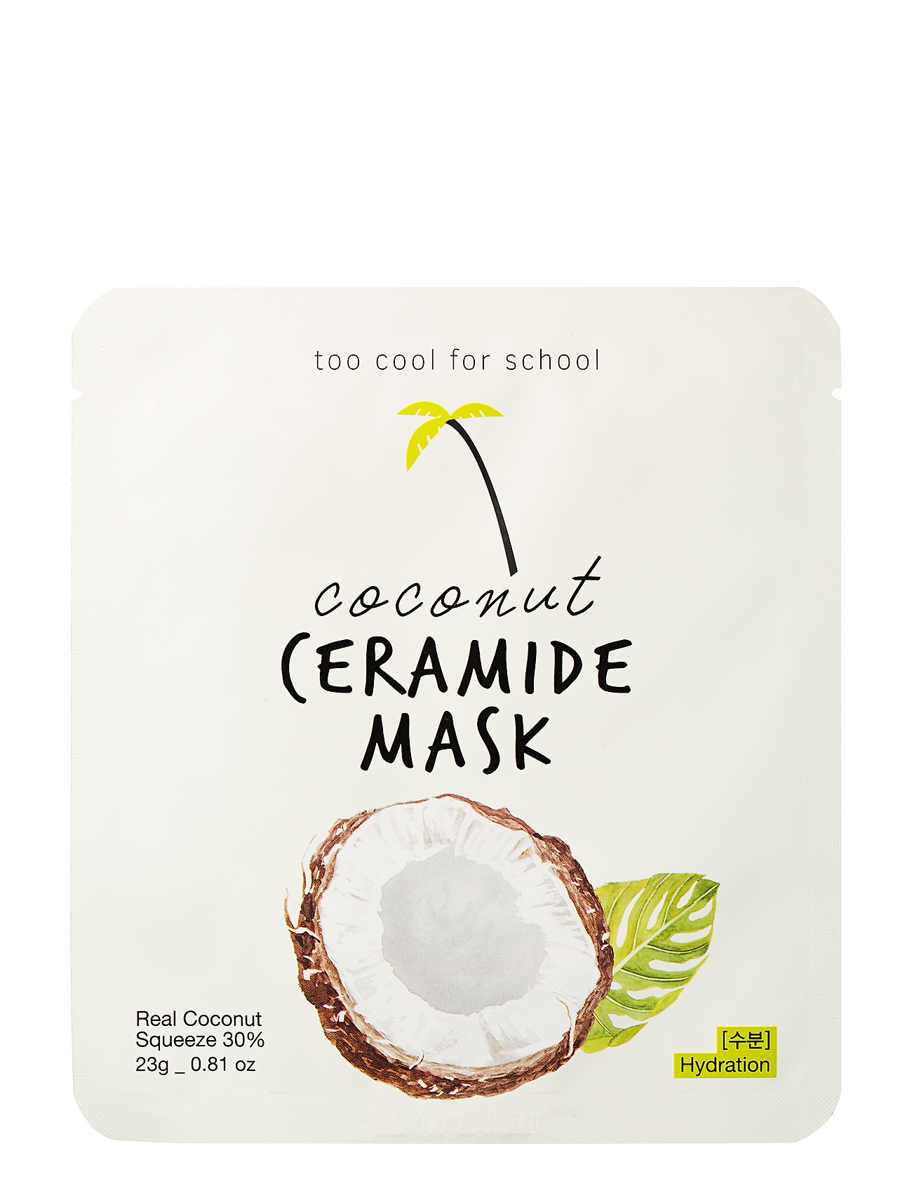 Too Cool For School Too Cool For School Coconut Ceramide Mask - CLEAR