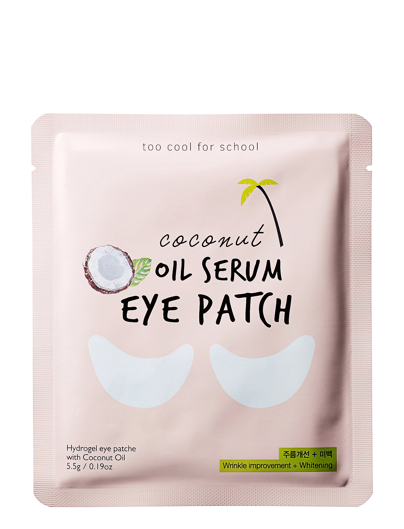 Too Cool For School Too Cool For School Coconut Oil Serum Eye Patch - CLEAR