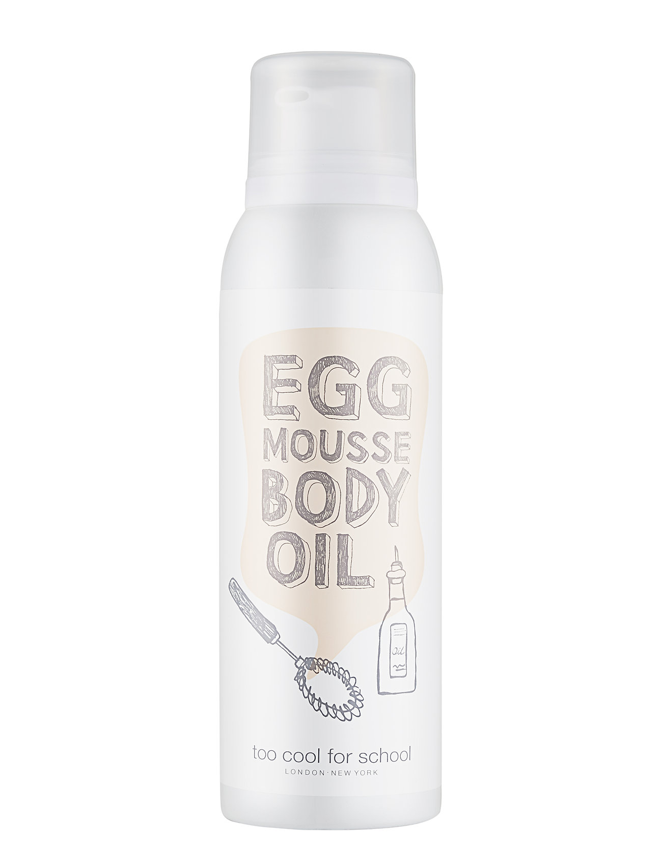 Too Cool For School Too Cool For School Egg Mousse Body Oil - CLEAR