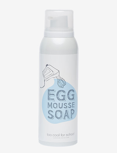 Too Cool For School Egg Mousse Soap - CLEAR