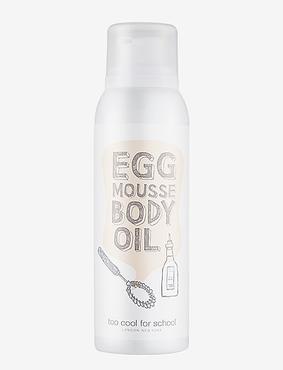 Too Cool For School Egg Mousse Body Oil - kropsolier - clear