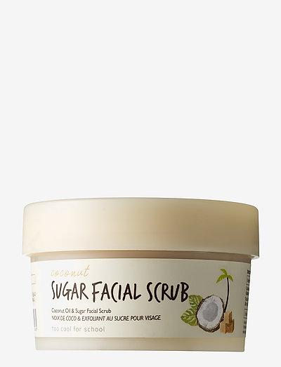 Too Cool For School Coconut Sugar Facial Scrub - CLEAR