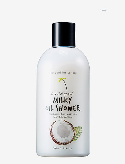 Too Cool For School Coconut Milky Oil Shower - CLEAR