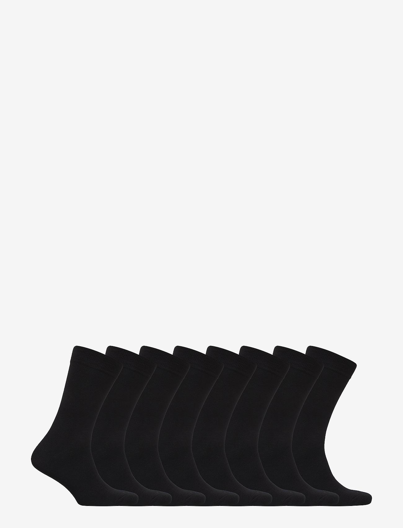 TOPECO - SOCKS 8-P BAMBOO - sous-vêtements - black