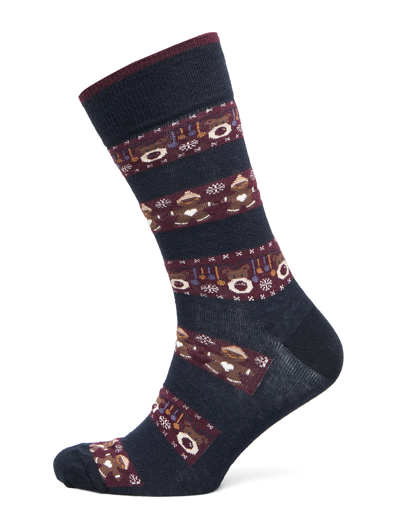 TOPECO SOCK CHRISTMAS TIME - NAVY BLUE CHRISTMAS
