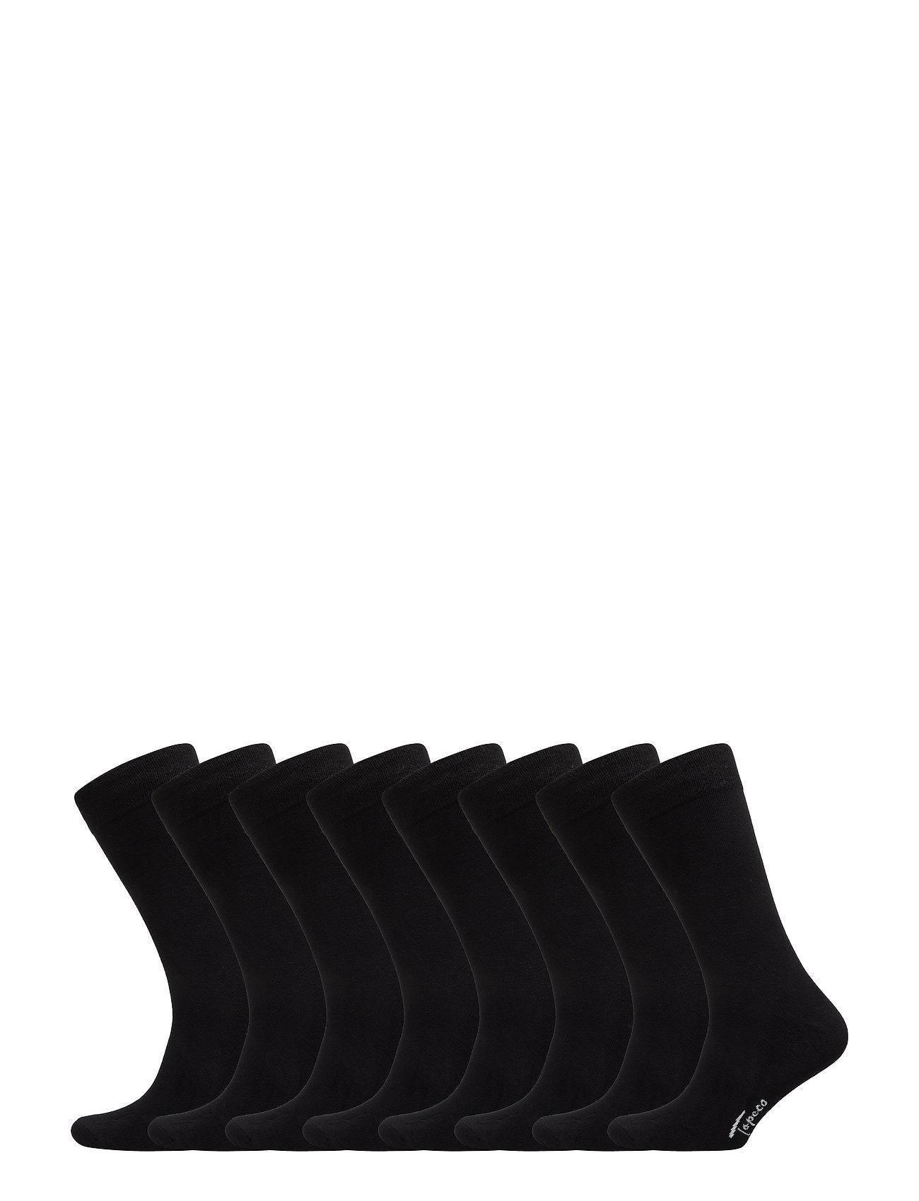 TOPECO SOCKS 8-P - BLACK