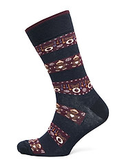 SOCK CHRISTMAS TIME - NAVY BLUE CHRISTMAS