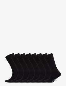 SOCKS 8-P - regular socks - black