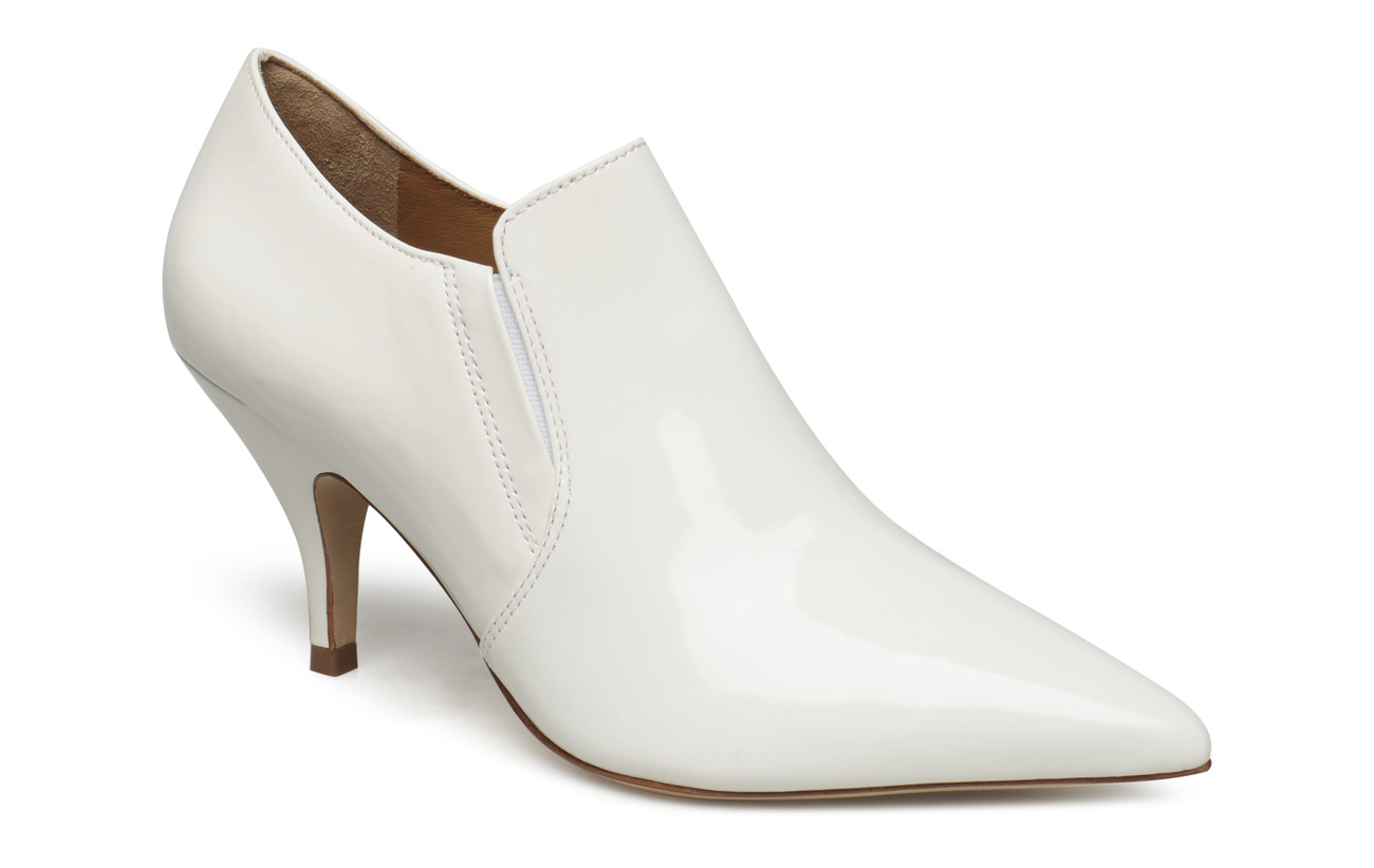 Tory Burch GEORGINA 80MM ANKLE BOOTIE - WHITE