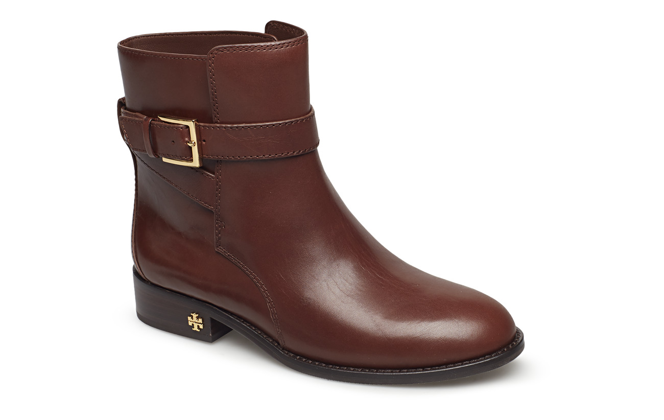 Tory Burch BROOKE ANKLE BOOTIE - PERFECT BROWN