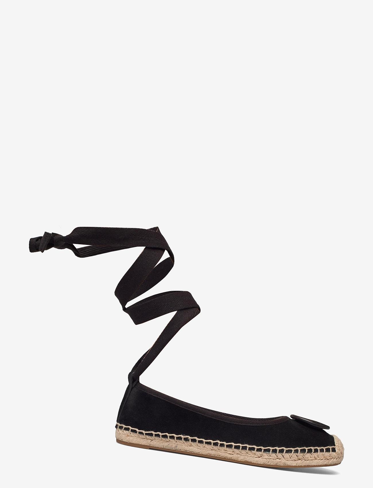 Tory Burch - MINNIE BALLET ESPADRILLE - flade espadrillos - perfect black - 1