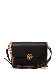 CHELSEA CONVERTIBLE SHOULDER BAG - BLACK