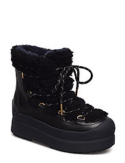 COURTNEY 60MM SHEARLING BOOT - PERFECT BLACK / PERFECT BLACK