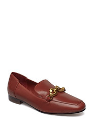 JESSA LOAFER - DARK SIENNA