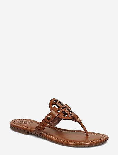 MILLER - platta sandaler - vintage vachetta