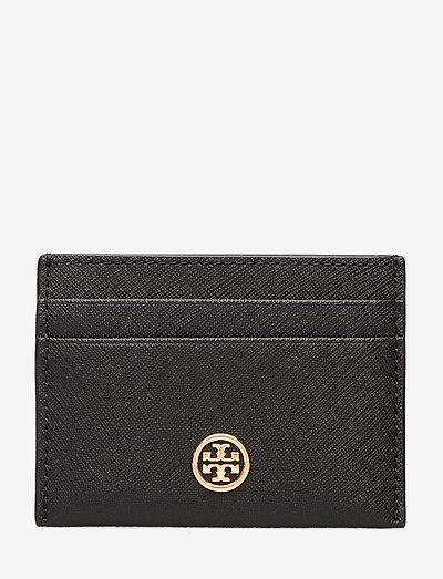 ROBINSON CARD CASE - plånböcker - black