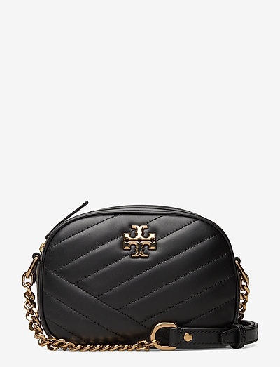 KIRA CHEVRON SMALL CAMERA BAG - väskor - black