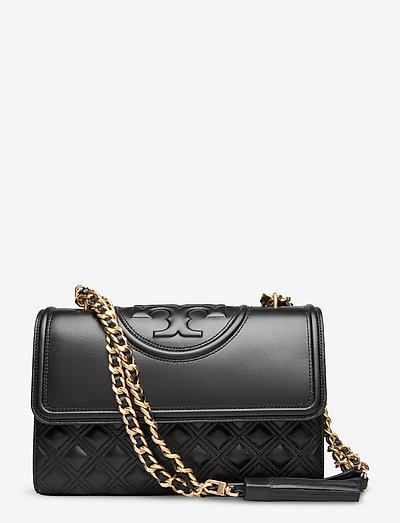 FLEMING CONVERTIBLE SHOULDER BAG - väskor - black