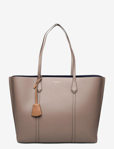 PERRY TRIPLE-COMPARTMENT TOTE - shoppingväskor - clam shell
